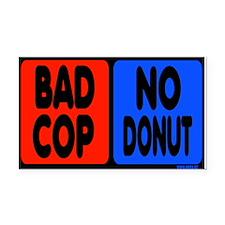 Bad Cop, No Donut Rectangle Car Magnet