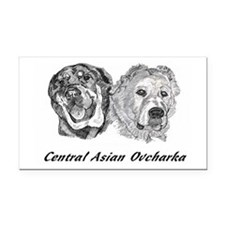 Cute Central asia Rectangle Car Magnet