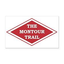 Montour Trail Rectangle Car Magnet