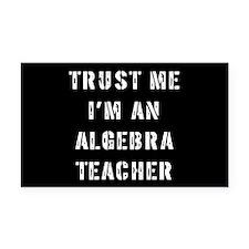 Algebra Teacher Gift Rectangle Car Magnet