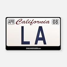 California License Plate Rectangle Car Magnet - LA