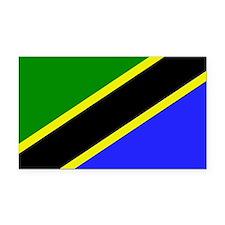 Tanzania Rectangle Car Magnet