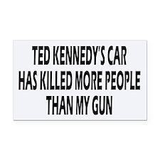 Kennedy's Car Rectangle Car Magnet