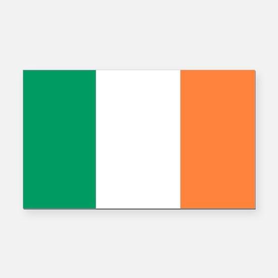 Irish Flag Rectangle Car Magnet