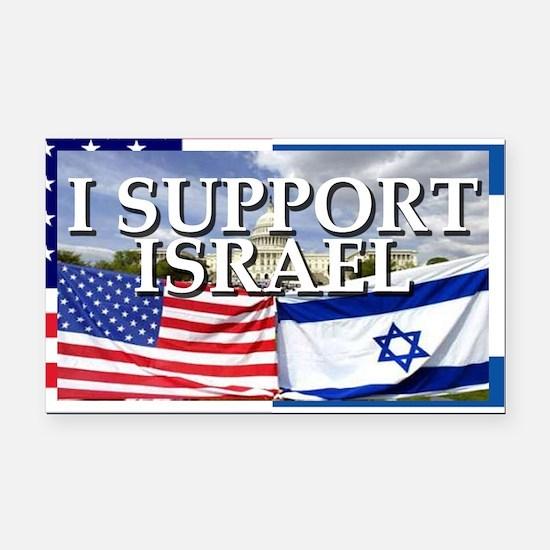 I Support Israel Rectangle Car Magnet