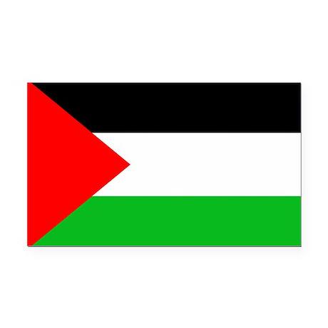 Palestine - Rectangle Car Magnet.)