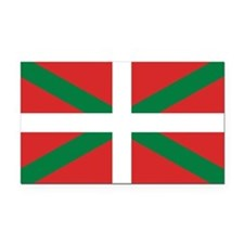 Basque Country Flag Rectangle Car Magnet