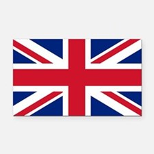 Rectangle Car Magnet with British Flag - the Union