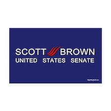 Scott Brown - U. S. Senate Rectangle Car Magnet