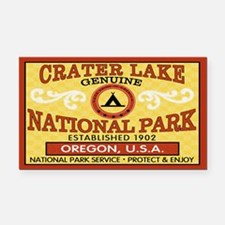 Crater Lake National Park Rectangle Car Magnet