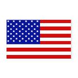 "American flag bumper 3"" x 5"""