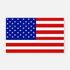 American Flag Bumper Rectangle Car Magnet