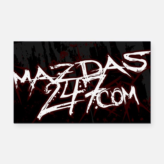 Mazda Forums Decal (Grunge Rectangle)