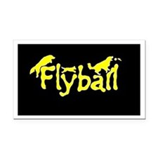 Flyball Rectangle Car Magnet
