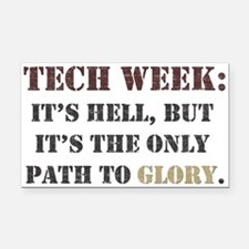 Tech Week Rectangle Car Magnet