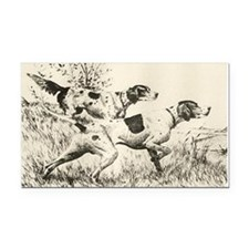 smittyts.com ENGLISH SETTER A Rectangle Car Magnet