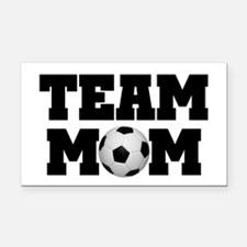 Soccer Team Mom Rectangle Car Magnet