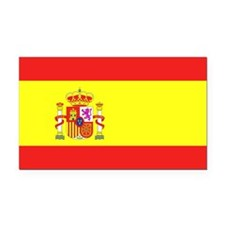 Spain Rectangle Car Magnet