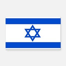 Israel Flag Rectangle Car Magnet