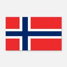 Norway Flag Rectangle Car Magnet