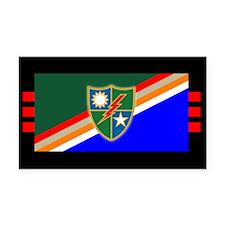 3rd Ranger Battalion Flash Rectangle Car Magnet