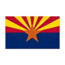 Arizona Flag Rectangle Car Magnet