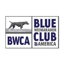 BWCA Rectangle Car Magnet