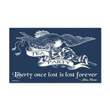 Adams Quote - Liberty Rectangle Car Magnet