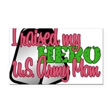 Funny Army wife Rectangle Car Magnet