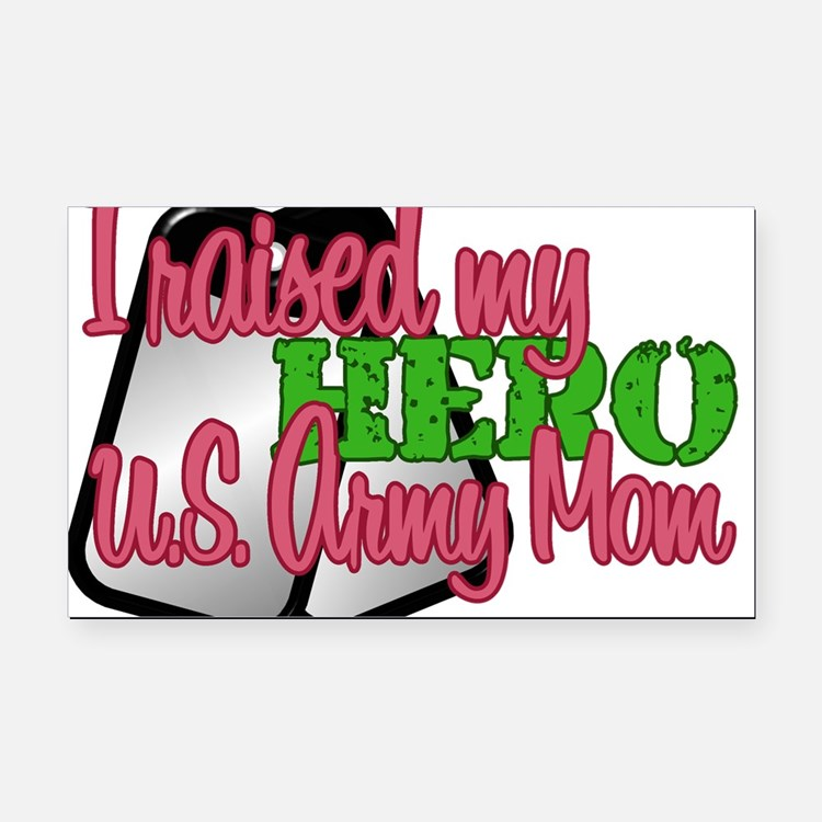 Cute Military wife Rectangle Car Magnet