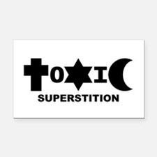 ToXiC Superstition 3x5 Rectangle Car Magnet