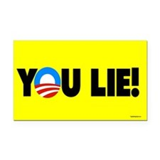 YOU Lie! Rectangle Car Magnet