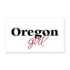 Oregon girl (2) Rectangle Car Magnet