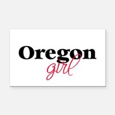 Oregon girl (2) Rectangle Car Magnet