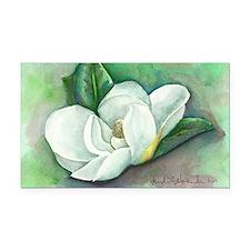 Southern Magnolia Rectangle Car Magnet