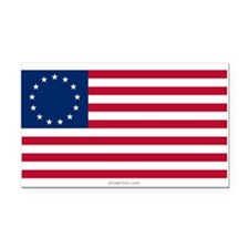 U.S. 13-star Flag Rectangle Car Magnet