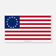 U.S. 13-star Flag Rectangle Car Magnet