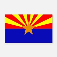 Arizona Flag Rectangle Car Magnet