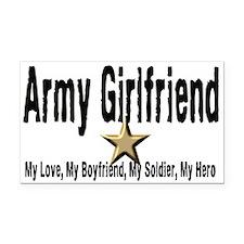 Army Girlfriend - My Hero Rectangle Car Magnet