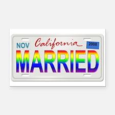 Funny California license Rectangle Car Magnet