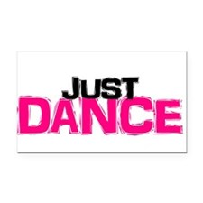 Just Dance Rectangle Car Magnet