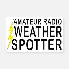 Weather Spotter Rectangle Car Magnet