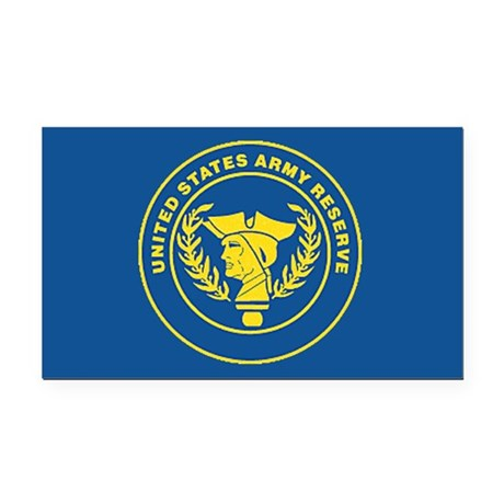 Army Reserve Rectangle Car Magnet