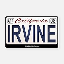 California License Plate Rectangle Car Magnet - IR