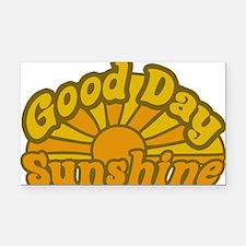 Good Day Sunshine Rectangle Car Magnet