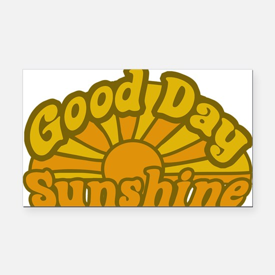 Good Day Sunshine Rectangle Car Magnet