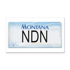 Montana NDN Pride Rectangle Car Magnet