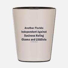 Florida Independent Shot Glass