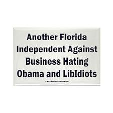 Florida Independent Rectangle Magnet