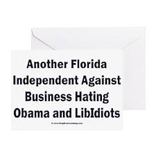 Florida Independent Greeting Card